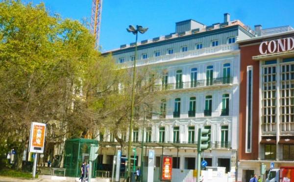 Edificio na Av. da Liberdade, Lisboa